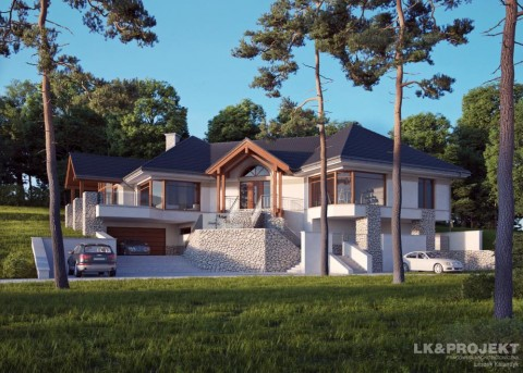Проект дома LK&713