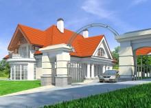 Проект дома LK&715