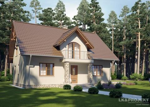 Проект дома LK&731