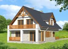 Проект дома LK&736
