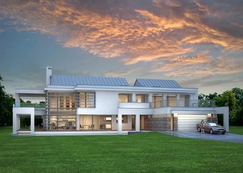 Проект дома LK&745