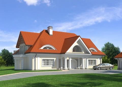 Проект дома LK&753