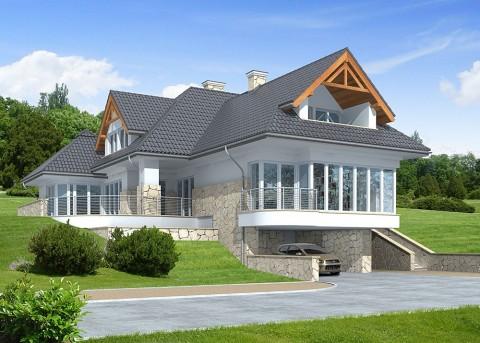 Проект дома LK&775