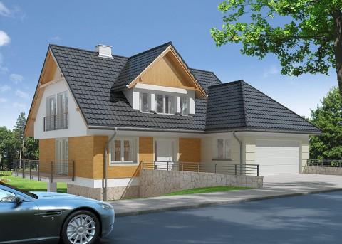 Проект дома LK&814