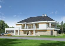 Проект дома LK&817