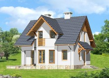 Проект дома LK&820