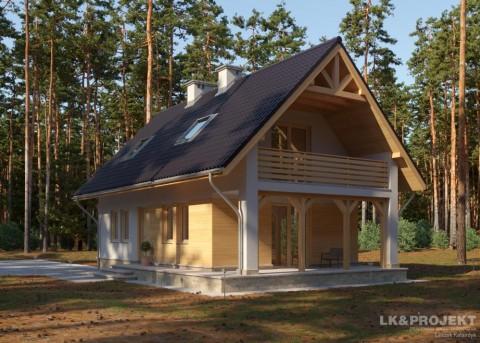 Проект дома LK&822