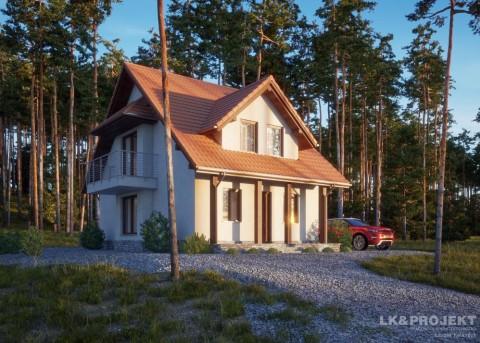 Проект дома LK&824