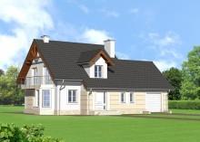Проект дома LK&834