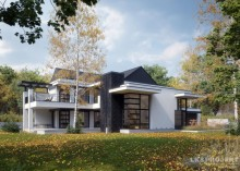 Проект дома LK&845