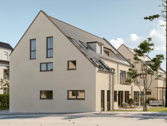 Проектирование экстерьера, разработка 3D планов 2 многоквартирных домов в г. Штейн (Германия)