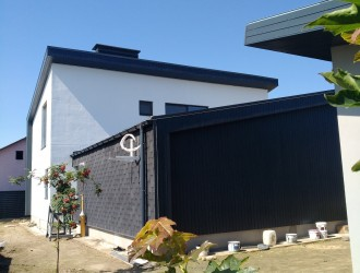 Индивидуальный проект гостевого дома в стиле модерн - реализовано в пос. Тарасово