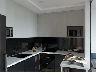 Дизайн интерьера 2-комнатной квартиры WAVE 476