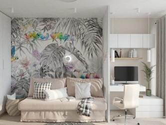 Дизайн интерьера 2-комнатной квартиры RIO 45