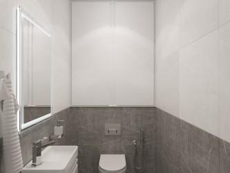 Дизайн интерьера 3-комнатной квартиры WAVE 681
