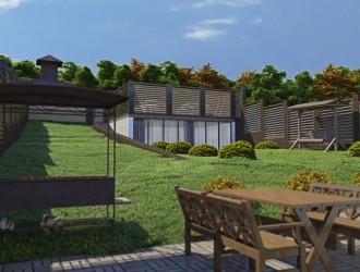 Архитектурное проектирование коттеджа в поселке Криничный
