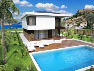 Проектирование архитектурной концепции коттеджа для девелоперской фирмы из г. Лимассол (Кипр)
