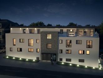 Проектирование экстерьера, разработка 3D планов многоквартирного жилого дома в г. Мюльхайм (Германия)