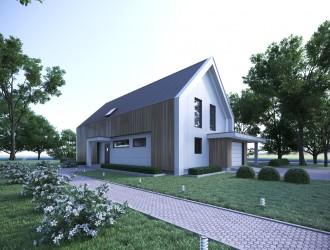 Разработка проекта индивидуального жилого дома из СИП-панелей для московского застройщика