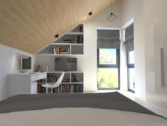 Полный дизайн-проект коттеджа в подмосковном поселке Картино