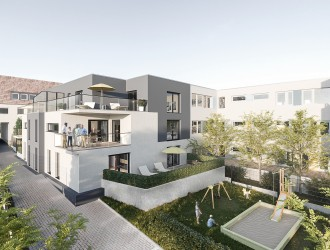 Дизайн экстерьера, разработка 3D планов многоквартирного здания в г. Нюрнберг