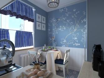 Дизайн двухкомнатной квартиры в стиле фьюжн в районе м. Грушевка