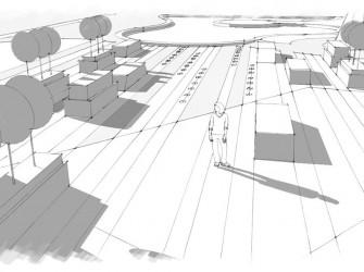 Генеральный план коттеджного поселка, Тюменская область 1,2 га