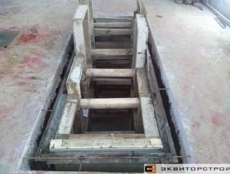 Устройство смотровой ямы на СТО в районе Шабаны