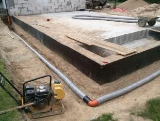 Строительство гостевого дома с баней в поселке Атолино