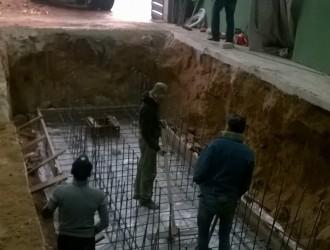 Устройство смотровой ямы на СТО возле Экспобела