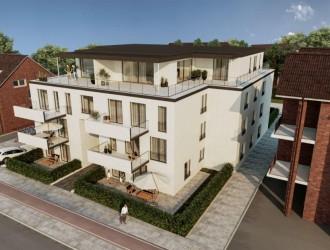 Разработка цветовых решений экстерьера и планировочных решений жилого дома в г. Люнен (Германия)
