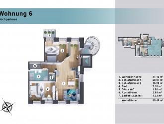 Проектирование экстерьера, разработка 3D планов многоквартирного жилого здания в г. Нюрнберг (Германия)