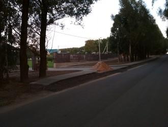 Комплексное благоустройство территории в поселке Самохваловичи