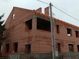 Строительство двухэтажного кирпичного дома в г. Минск