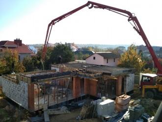 Строительство гостевого дома в стиле модерн в поселке Тарасово
