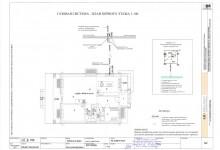 Газовая система - план первого этажа