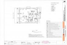 Электрическая система - план первого этажа