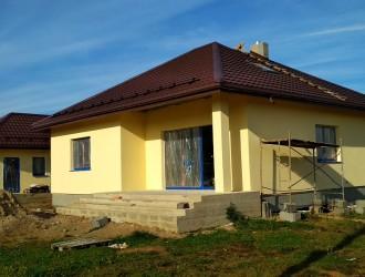 Строительство одноэтажного жилого дома в поселке Чуденичи