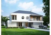 Двухэтажный дом LK&929 в стиле модерн