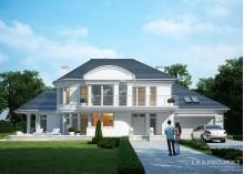 Проект LK&1111 дома в стиле ар-деко