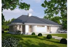 Проект LK&1032 дома одноэтажного из керамических блоков