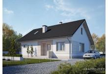 Проект LK&1273 дома одноэтажного из керамических блоков