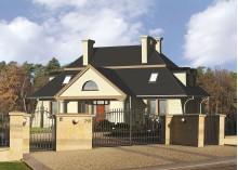 Проект дома LK&53 с мансардой
