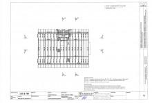 План стропильной системы - конструкция